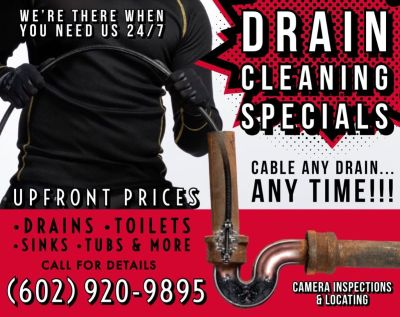 Plumbing ★ Drain Cleaning ★ Plumber ★ UPFRONT PRICES