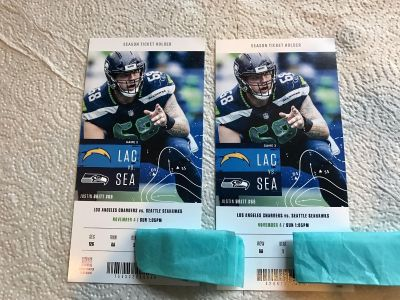 100 LEVEL!!! Seahawks VS Chargers. THIS SUNDAY