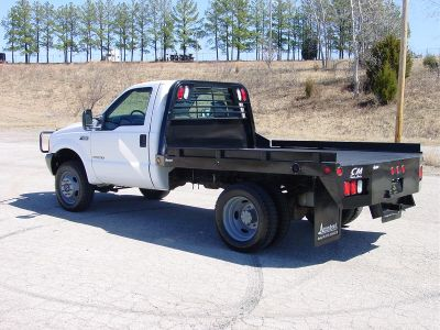 2001 Ford F450 7.3 Diesel 71k miles 4x4 6 speed New CM SS Model Flat Bed