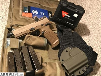 For Sale/Trade: FN FNX 45 Tactical RMR