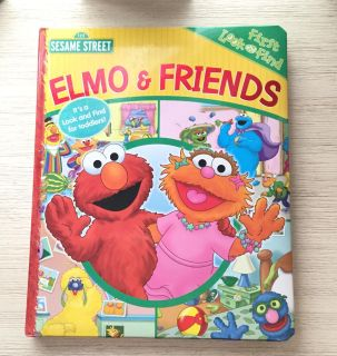 Elmo and Friend Toddlers First Look n find book