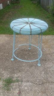Iron side table $10
