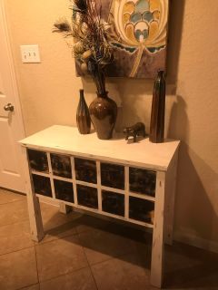 Side table 10 drawers