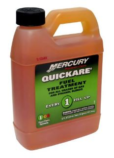 Find Mercury Marine Quickare Fuel Treatment (32 Ounces/1 Quart) 92-8M0058690 motorcycle in Millsboro, Delaware, United States, for US $19.98