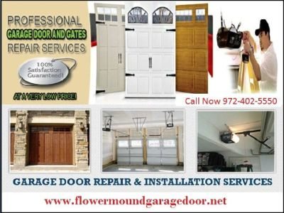 Professional Garage Door Motor Repair Service in Flower Mound, TX