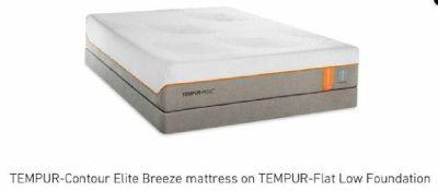TEMPURPEDIC mattress, Model CONTOUR ELITE BREEZE 2.0