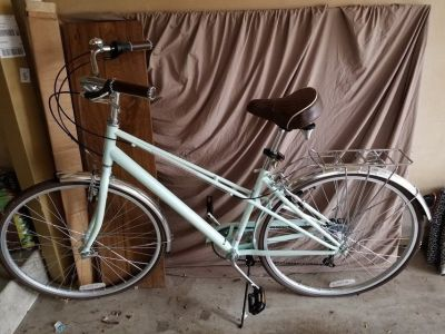 "Schwinn 26"" Woman's Hybrid Bike Mint Green"