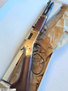 For Sale: HENRY MARES LEG 357 MAGNUM/ .38 Special