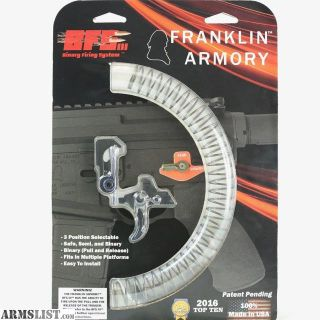 For Sale: Franklin Arms Binary Stage 3 Trigger BFSIII New