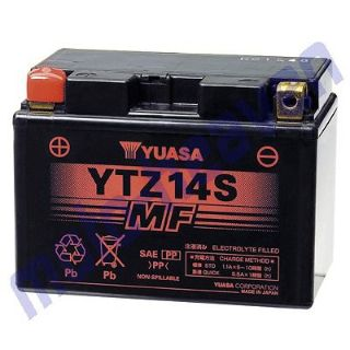 Find Yuasa YTZ14S Factory Activated Maintenance Free Battery HONDA 1998-2000 TOURER motorcycle in Sugar Grove, Pennsylvania, United States, for US $159.99
