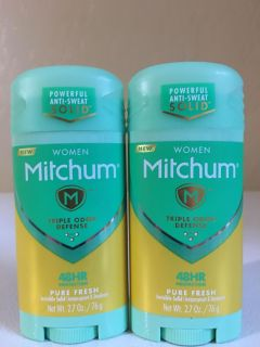 Mitchum $5 for both!