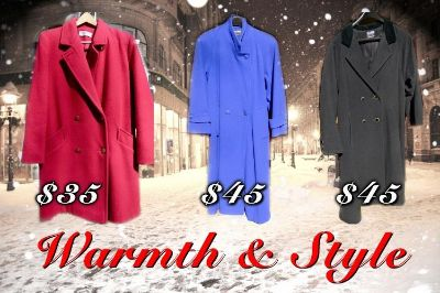 WARMTH & STYLE - Womens Winter Coats