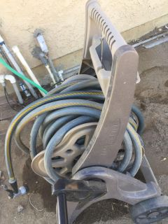 Water hose and cart