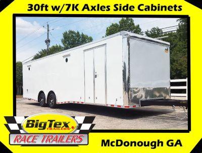 2019 8.5x30 C/W LOADED Side Cabinets w/Tool Box