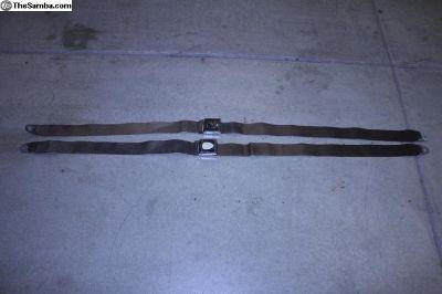 Original Wolfsburg Hickok Seat Belts