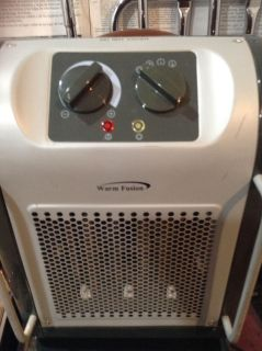 Small Space Heater. Brand; Warm Fusion. Works great!