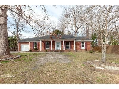 3 Bed 2 Bath Foreclosure Property in Jacksonville, NC 28540 - Dewitt St