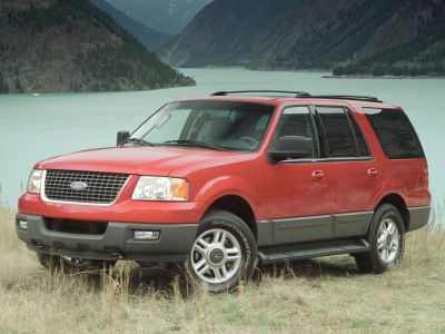 2003 Ford Expedition Eddie Bauer (Medium Wedgewood Blue Clearcoat Metallic)