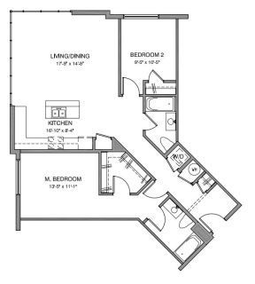 $7320 2 apartment in Stamford