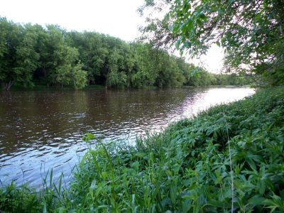 1.53 acre building site on the Black River