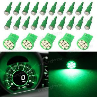 Purchase 25xT5&T10 Green Instrument Kit Dashboard Speedometer Panel Lamp Epistar SMD motorcycle in Milpitas, California, United States, for US $12.99
