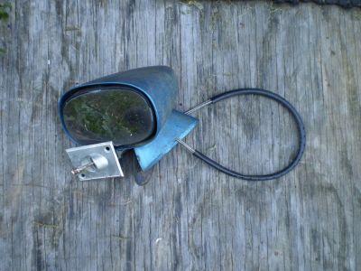 70 81 Camaro Trans Am GM side door bullet remote mirror driver LH 455 454 400