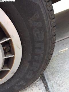 Vanagon Westfalia Correct Wheels & Tires
