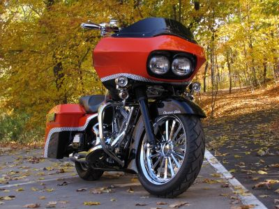2004/Customized in 2009 Harley Davidson Road Glide Custom Build