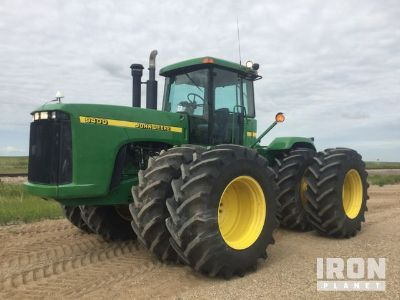 1998 John Deere 9400 Articulated Tractor