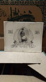 1978 Confederate calendar. EUC, no writing. Online price is $9.95. Asking $6.50