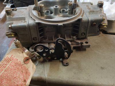 Holley 750 alcohol carburetor.