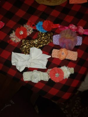 Doing some cleaning and getting rid of lots of hair accessories check out my page for more