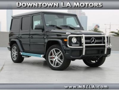 2018 Mercedes-Benz G-Class AMG G 63 (Magnetite Black Metallic)