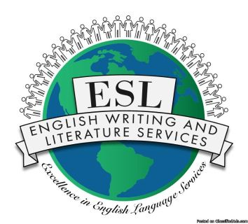 ESL and English Writing and Literature Services