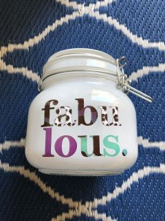 Fabulous! Locking Glass Container ~ NEW **