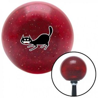 Buy Cat Scary Red Metal Flake Shift Knob with 16mm x 1.5 Insertshift oem weighted motorcycle in Portland, Oregon, United States, for US $29.97