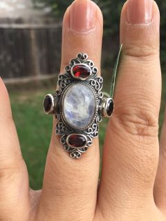 NWT LARGE Sterling Silver Ring