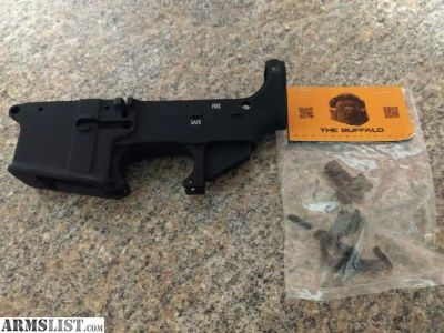For Sale: 80% 9mm AR lower