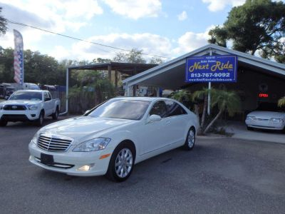 2007 Mercedes-Benz S-Class S550 (White)