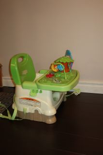 Fisher-Price Booster Seat with Detachable Toy on Tray