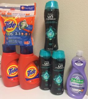 Tide/Downy Unstopables. Price is Firm.