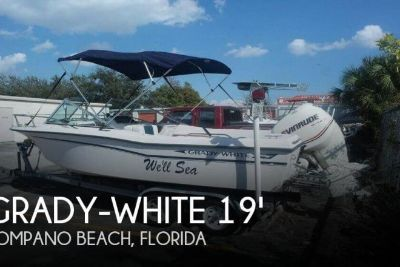 1986 Grady White 190 Freedom 2007 Evinrude 200HP
