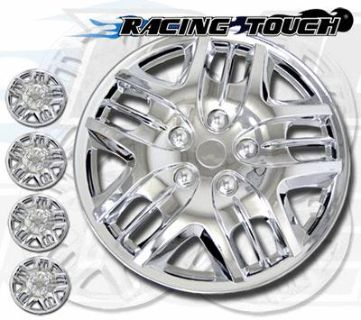 "Sell 4pcs Set 15"" Inches Metallic Chrome Hubcaps Wheel Cover Rim Skin Hub Cap #025 motorcycle in La Puente, California, US, for US $30.95"