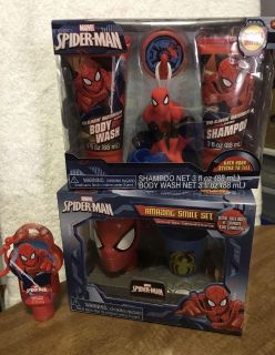 Spider-Man All New Bathroom Collection.