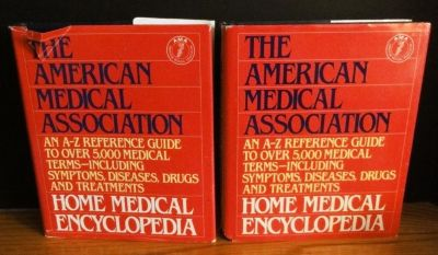 The American Medical Association Home Medical Encyclopedia Set of 2 HC Reference