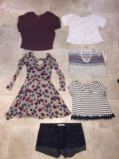 Size small clothing