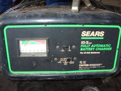 10/2 sears battery charger