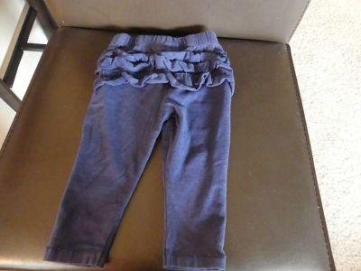 KT ~ ruffle pants 6-9 months