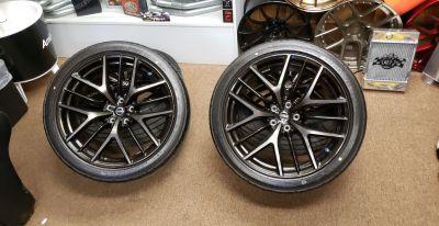 2018 OEM GTR wheels and tires