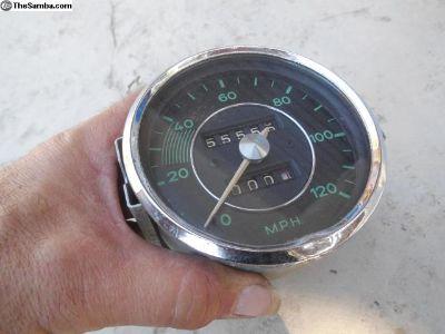 Porsche 356 Speedometer date stamped 6/56